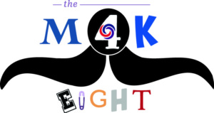 M4K EIGHT logo color